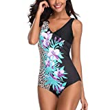 Yvelands Damen bademode Badeanzüge Siamese Bikini Set Push-Up StripeSwimwear Beachwear Badeanzug