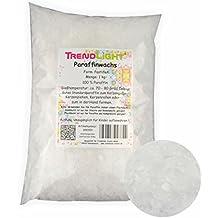 Creleo parafina en pastillas Forma vela Cera para hacer velas ( 1 kg