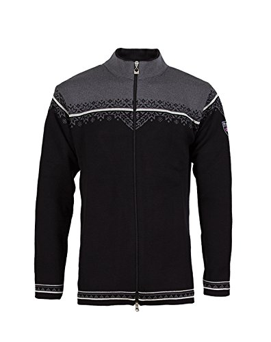 Dale of Norway Herren Jacke Nordlys Black/Off White/Schiefer