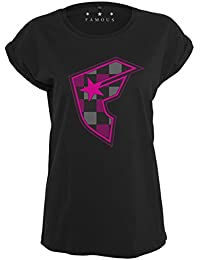 Famous Stars and Straps Ladies Top - Buffalo Black