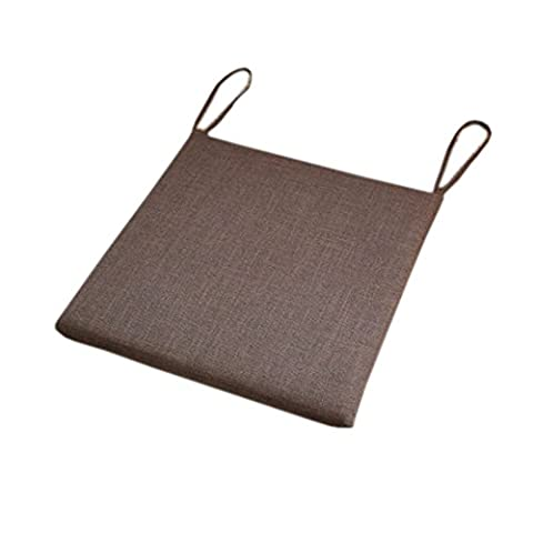 Simple Chair Pads Indoor/Outdoor Square-Type Thick Seat Cushions,