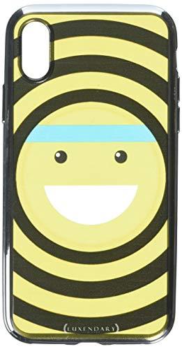 Luxendary Designer Hülle für iPhone X, Emoji mit Stirnband, iPhone X (5.8
