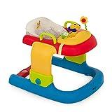 Hauck / Disney Lauflernhilfe 2in1 Walker / ab 6 Monaten / Gehfrei mit Spielcenter und Rollen / höhenverstellbar / Pooh Ready to Play (Bunt)