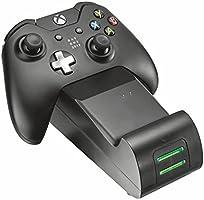 Trust Gaming GXT 247 Dubbel Oplaaddock voor Xbox One Controllers, Zwart