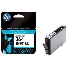 HP 364 - Cartucho de tinta para impresoras (Negro, Cian claro, Magenta claro, Estándar, 5 - 80%, -40 - 70 °C, HP Photosmart D5400/D7500 HP Photosmart All-in-One Printer - B109/B110, 5 - 50 °C)