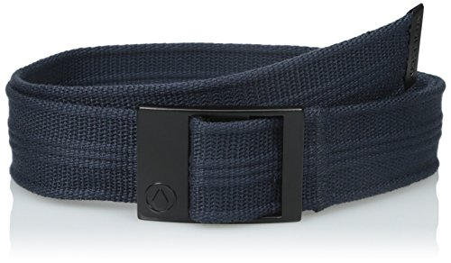Volcom Step Over Web Belt - Cintura, Uomo, Gürtel Step Over Web Belt, blu navy, Taglia unica