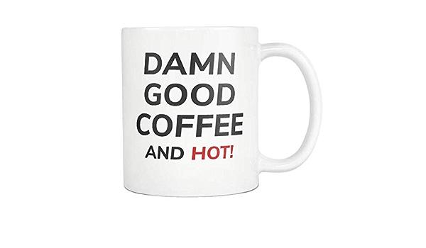 Damn Good Coffee And Hot Mug Twin Peaks Dale Cooper Tasse Amazon De
