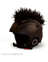 Helm-Irokese für den Skihelm, Snowboardhelm, Kinderskihelm, Kinderhelm, Motorradhelm oder Fahrradhelm - Der HINGUCKER - Der etwas auffälligere Helm-Aufkleber - für Kinder und Erwachsene HELMDEKO