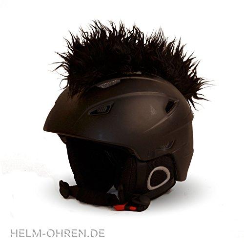 Helm-Irokese für den Skihelm, Snowboardhelm, Kinderskihelm, Kinderhelm, Motorradhelm oder...