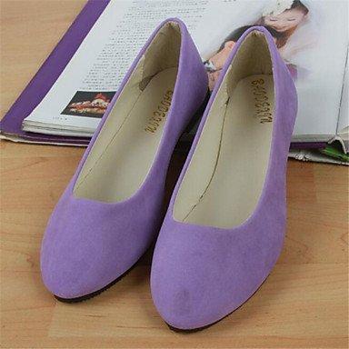 Confortevole ed elegante piatto scarpe scarpe donna tacco piatto Round Toe Appartamenti Casual più colori Availably Red