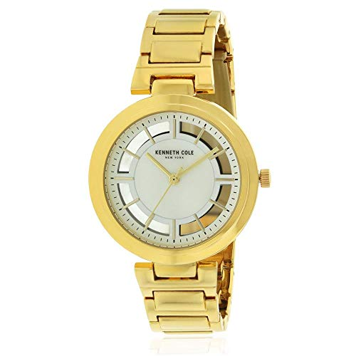 Kenneth Cole Women's 36mm Steel Bracelet & Case Quartz Analog Watch KC50048001
