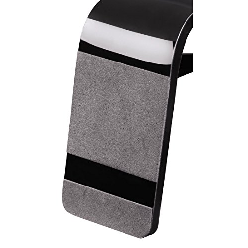 Hama Kopfhörer-Ständer (Kopfhörer-Halter mit Kabelhalterung, Höhe 23cm, Acryl) schwarz - 5