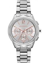 Karl Lagerfeld KL4005 - Reloj con correa de metal, para mujer, color rosa