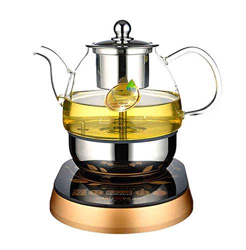 Glas-herd-kaffeemaschine (WZF Automatischer Tee-Elektro-Teekanne Boiled Black Tea Puer Glas Kettle Kaffee-Maschine Herd. Sprinkler Typ Tee,)