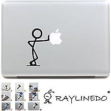 """DIY extraíble Raylinedo® MacBook Air Pro de vinilo pegatinas Decoración portátil adhesivo para 11"""", 13"""", 15"""", 17"""" 1pieza o 2pcs, Z132, FITS ALL MACKBOOK"""