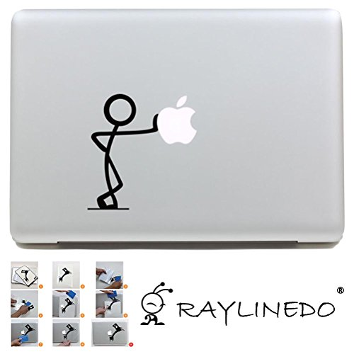 "RayLineDo® 1PC Removable DIY Macbook Air Pro Decal Stickers Decoration Laptop Sticker For 11"",13"", 15"", 17"" Z132 Test"