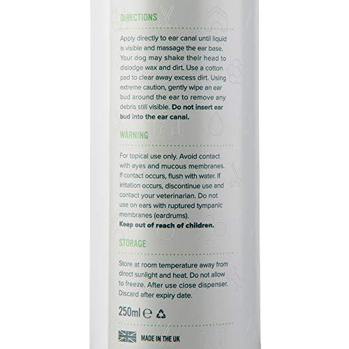 Ohrenreiniger für Hunde (250 ml) von PRO POOCH - 2