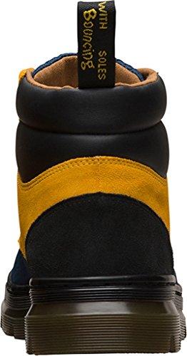 Dr. Martens , Herren Stiefel Indigo+Straw Yellow+Black