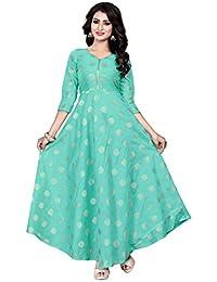 1977425c23 Greens Women s Ethnic Gowns  Buy Greens Women s Ethnic Gowns online ...