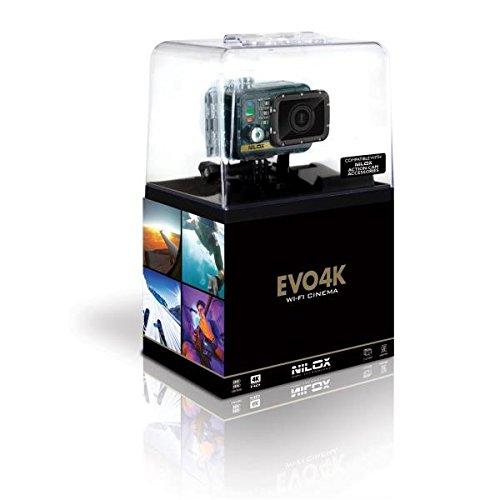 Nilox Evo 4K Cinema Action Cam, Nero