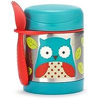Skip Hop Zoo - Termo para alimentos y tenedor-cuchara