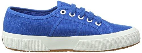 Superga 2750 Jcot Classic, Low-Top Sneakers mixte enfant Bleu (Sea Blue)