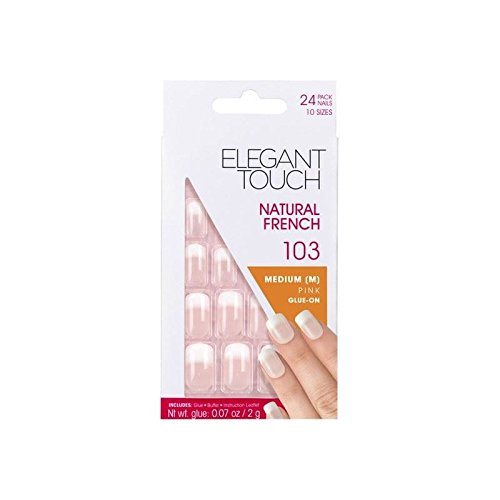 elegant-touch-naturelles-ongles-103-francais-m-rose-pointe-de-fondu-pack-de-4