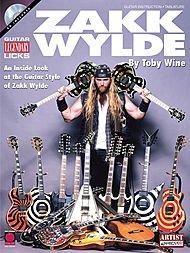 Zakk Wylde: Guitar Legendary Licks (Book and CD). For Tablatura di Chitarra