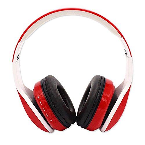 NSOP Auriculares Bluetooth Estéreo del Deporte del Universo, Auriculares Inalámbricos De Bluetooth del Diseño Que Se Doblan Que Funcionan con El Micrófono Sobre El Oído