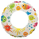 Aarushi (with device) Intex Kids Swimming Ring, 61cm, 6-10 Years (Multicolour)