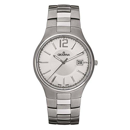 Grovana Contemporary Titanium Sapphire Crystal Men's Watch 1503.1192