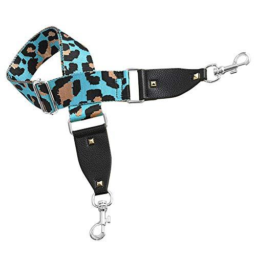 iSpchen Ersatz Umhängetasche Gurt Cross Body Leopard Muster Einstellbare Handtasche Gurt Kamera Gürtel Veränderbar Geldbörse Verpackung Gurt Braid Gürtel