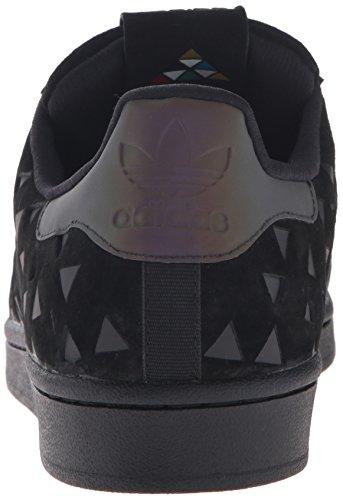 Adidas Superstar Foundation, Sneakers Unisex Adulto Black/Black/Black