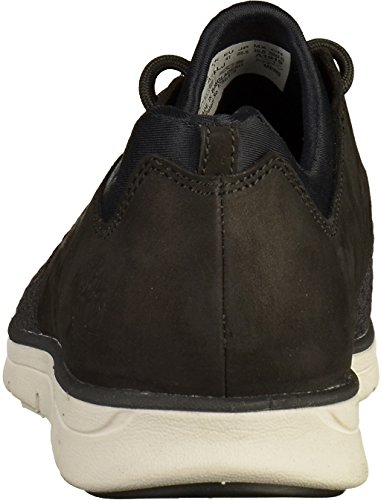 Timberland Bradstreet Oxfor Black Ca1rlj, Sneakers Noir