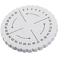 FITYLE Runde Weben Platte Geflecht Schnur Platte Flechtscheibe Scheibe für Zopf