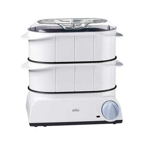 Braun FS 20 Dampfgarer Multi Gourmet (850 Watt) weiß