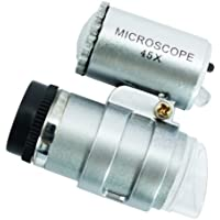 Microscopio de 45x con luz led