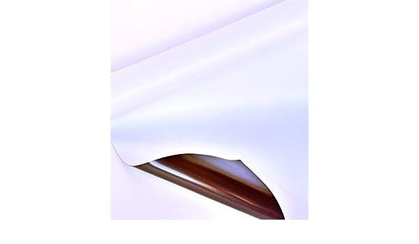 """Magnetfolie Weiß Matt 620mm x 1500mm x 0,9mm Top Qualität /"""" Anisotrop/"""""""