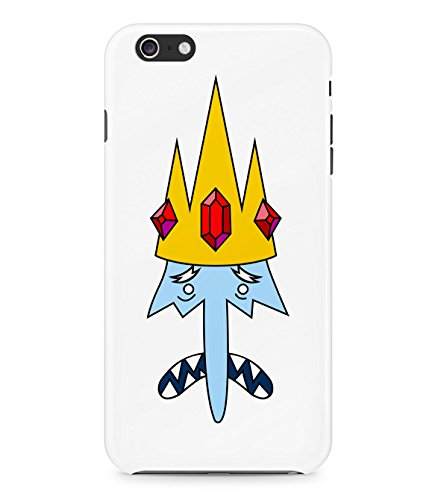 Adventure Time Ice King Face Hard Plastic Snap On Back Case Cover For Iphone 6 Custodia