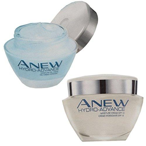 faltenauffueller Avon Anew Hydro-Advance Set Gel + Creme Feuchtigkeitspflege Faltenaufpolsterung