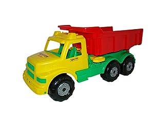 Wader Maxi Camión volquete (Rojo / Amarillo)