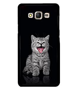 printtech Kitten Cute Back Case Cover for Samsung Galaxy E5::Samsung Galaxy E5 E500F