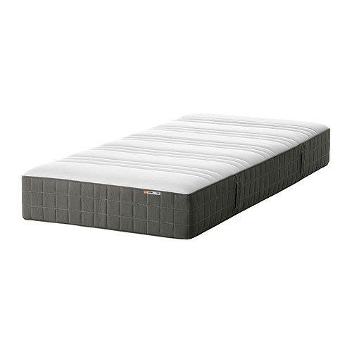 IKEA Høvåg - colchón de muelles, firmes, de color gris oscuro