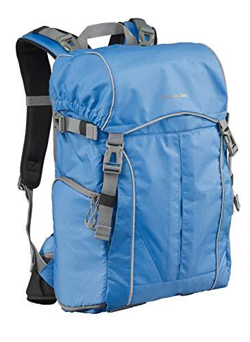 CULLMANN ULTRALIGHT 2in1 Daypack 600+ Foto-/Wanderrucksack mit Schultertasche, Innenmaß Kamerafach 240x190x120mm, blau