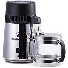 CO-Z - Máquina destiladora de agua de acero inoxidable con botella de conexión de