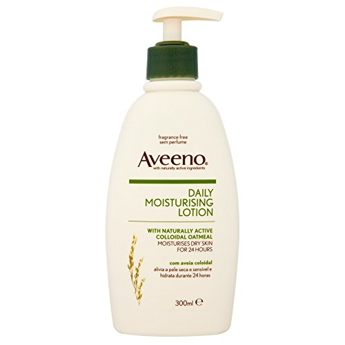 Aveeno, Crema corpo idratante con avena colloidale, 300 ml