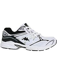 Zapatillas deporte de Hombre y Mujer KAPPA 30257K0 PAPINO 910 WHITE-BLACK