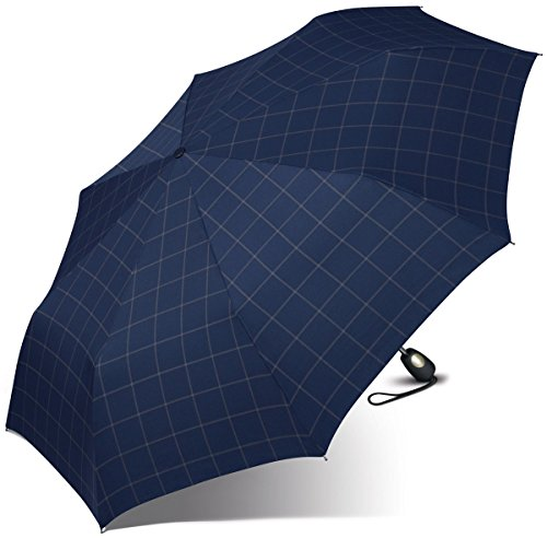 esprit-uomo-mini-tecmatic-knirps-ombrello-97-centimetri-check-blue