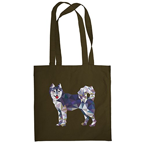 TEXLAB – Poly Dog – Sacchetto regalo in tessuto Marrone
