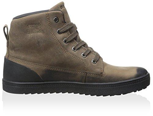 Bottines - Boots, couleur Marron , marque GEOX, modÚle Bottines - Boots GEOX AMARANTH B ABX Marron Marron (Antelope)